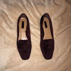 Maroon forever 21 flats